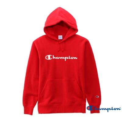 Champion Basic Logo 經典款連帽Tee 紅色
