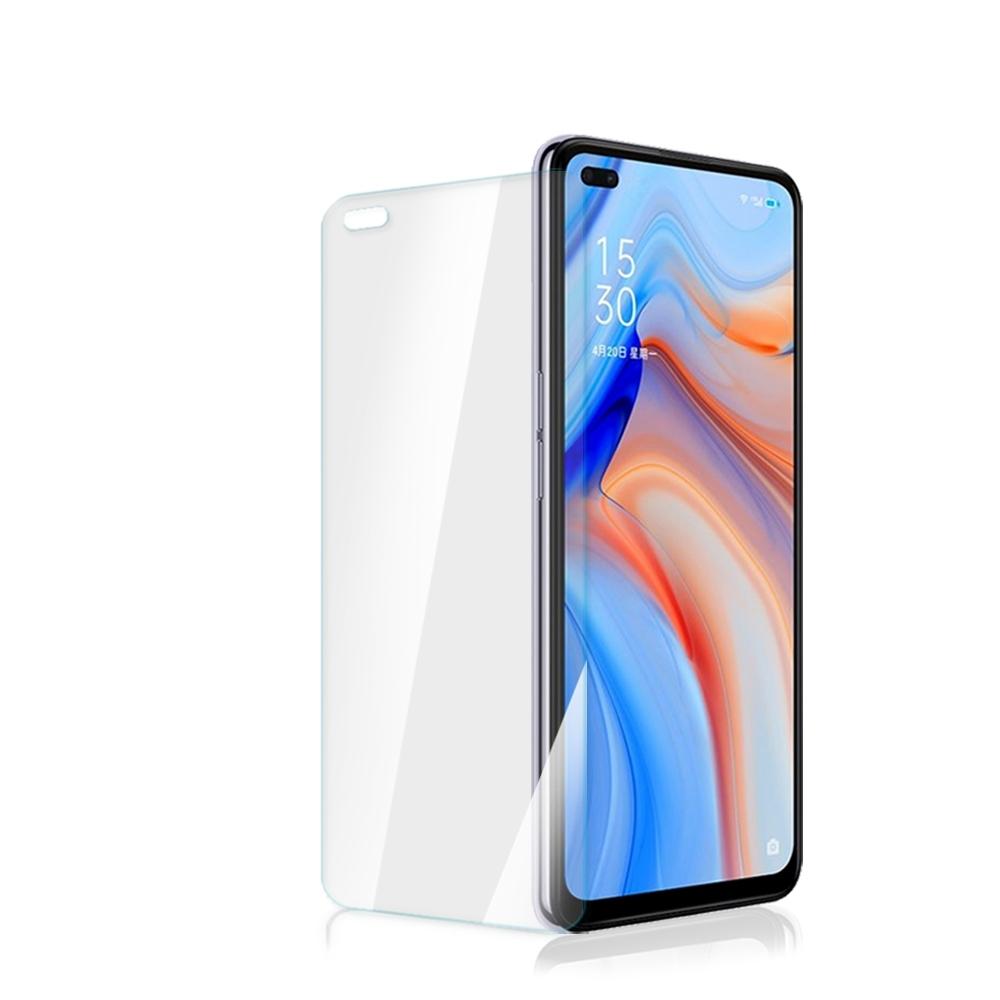 OPPO Reno4 Z 高清透明 9H鋼化玻璃膜 手機 保護貼 透明x1 ( OPPOReno4Z保護貼 Reno4Z保護貼 )