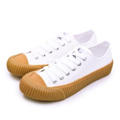 ARNOR 韓系帆布餅乾鞋 cookie系列 白棕 93029