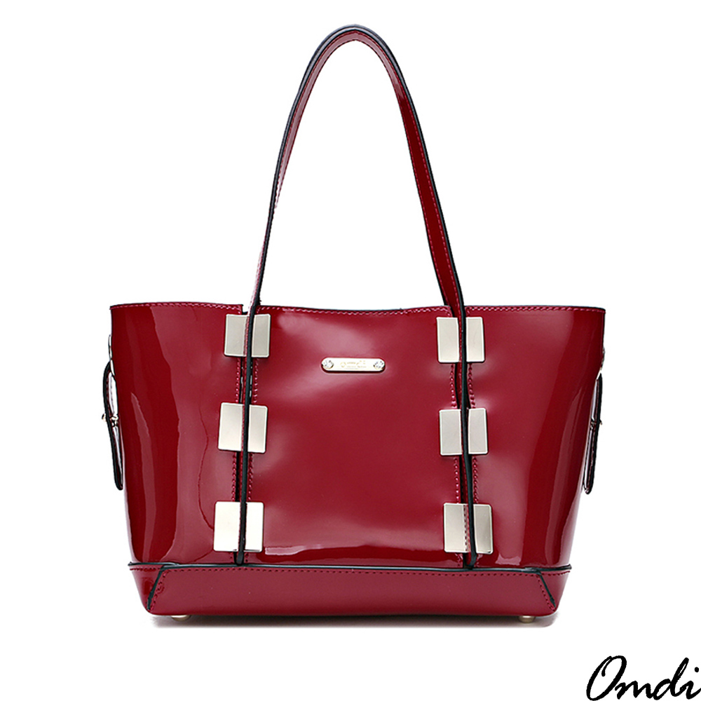 OMDI 個性時尚亮眼手提包(紅色)
