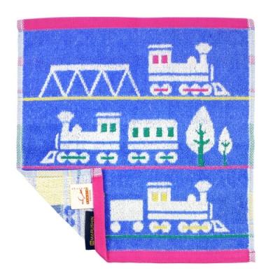 日本丸真 葡萄牙製創意北歐洗臉巾 火車