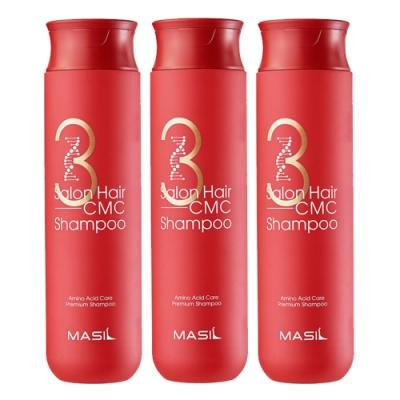 Masil 3次方沙龍CMC胺基酸修復洗髮精 300mlx3入