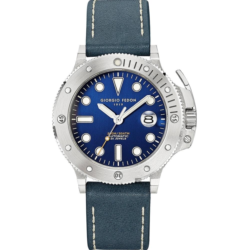 GIORGIO FEDON 1919 海藍寶石系列第二代 AQUA MARINE II 機械錶(GFCR006)