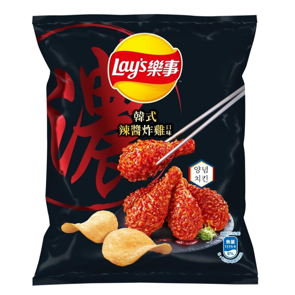 樂事 韓式辣醬炸雞口味洋芋片43G/包