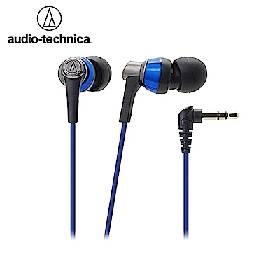 日本鐵三角Audio-Technica入耳式耳機(藍)ATH-CKR3