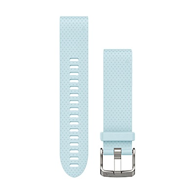 GARMIN QUICKFIT 20mm 天空藍矽膠錶帶