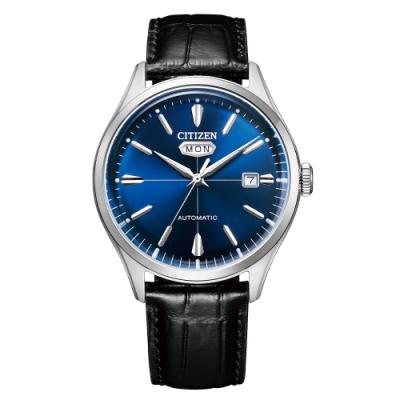 CITIZEN 星辰Mechanical經典C7系列機械腕錶NH8390-20L