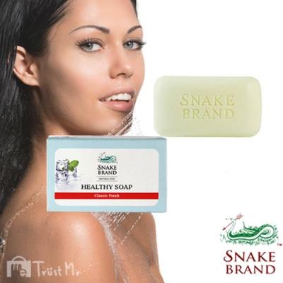 泰國SnakeBrand蛇牌 美肌冰鎮香氛皂100g-經典清新