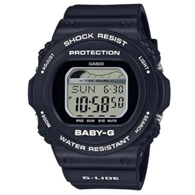BABY-G 夏日陽光女孩衝浪板設計電子錶(多色任選)