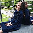 箱子-BLUE WAY-2WAY超長版牛仔襯衫