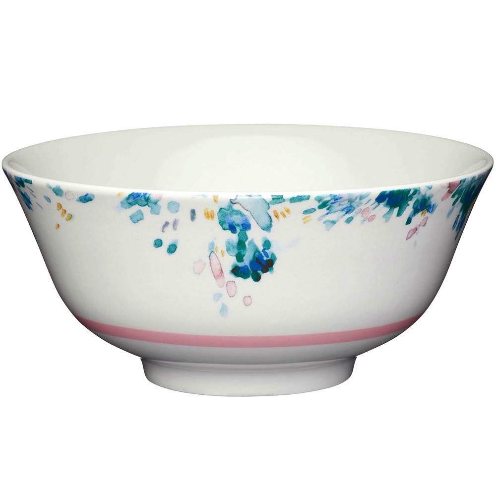 《KitchenCraft》陶製餐碗(潑墨彩)