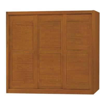綠活居 賽米普 實木7.1尺推門衣櫃/收納櫃(穿衣鏡面+四抽屜)-212x62.6x201cm免組