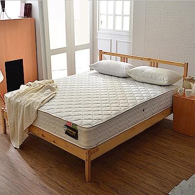 A家-輕女性專用-抗菌防潑水-護邊獨立筒床墊-單人3.5尺