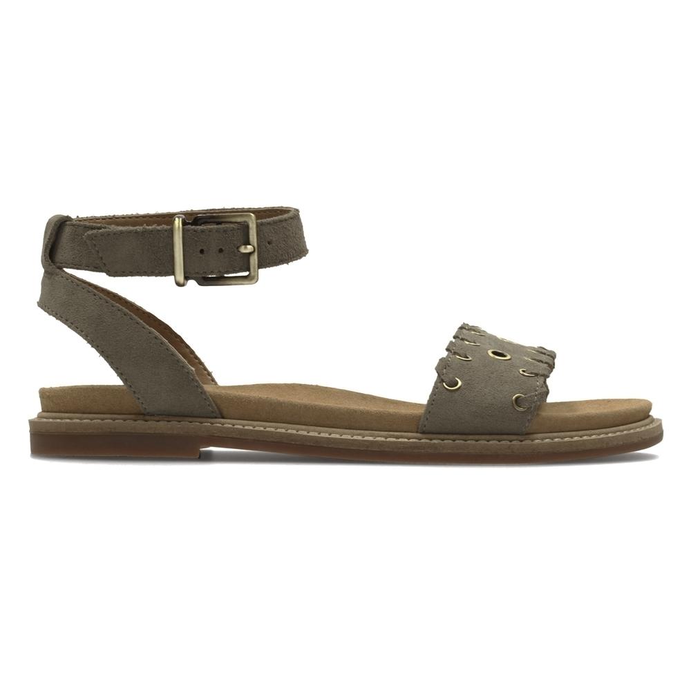 Clarks Corsio Amelia 女 涼鞋 灰棕