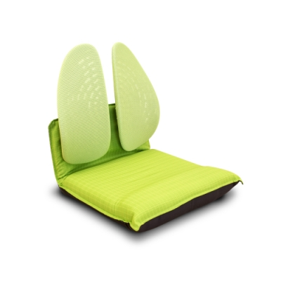 Birdie-德國專利雙背護脊摺疊式和室椅-綠色-46x50x50cm