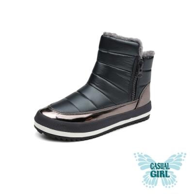Casual Girl「SNOW」保暖太空雪靴 (灰色)