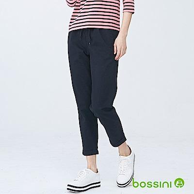 bossini女裝-輕鬆長褲01黑