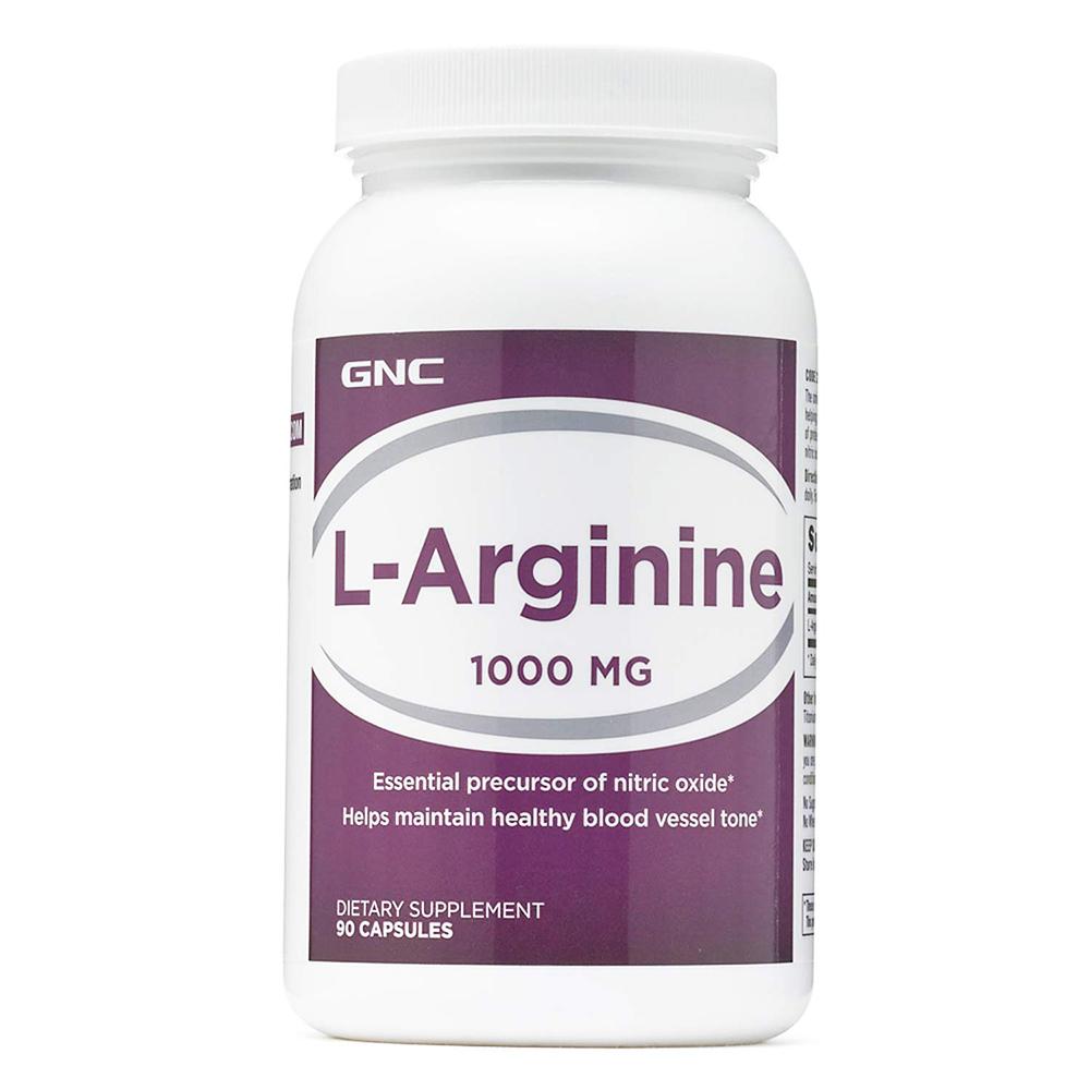 LAC利維喜】GNC健安喜活力up 精胺酸1000膠囊90顆| 機能保健|