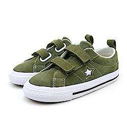 CONVERSE-ONE STAR 2V童鞋-綠