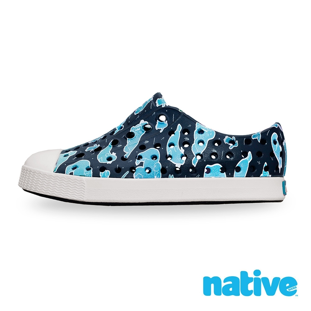 native 小童鞋 JEFFERSON 小奶油頭鞋-深海動物園