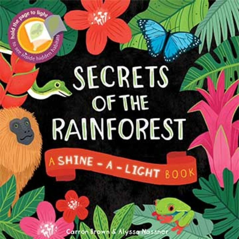 Secrets Of The Rainforest 透光書:熱帶雨林篇平裝繪本