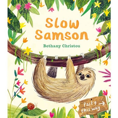 Slow Samson 慢吞吞的山姆森平裝繪本