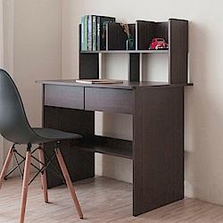 《HOPMA》DIY巧收開放式書架型書桌-寬90 x深60 x高112.5cm