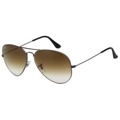 RAY BAN 太陽眼鏡(槍色)大面版RB3025