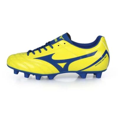 MIZUNO 兒童足球鞋-WIDE MONARCIDA NEO SELECT 黃藍