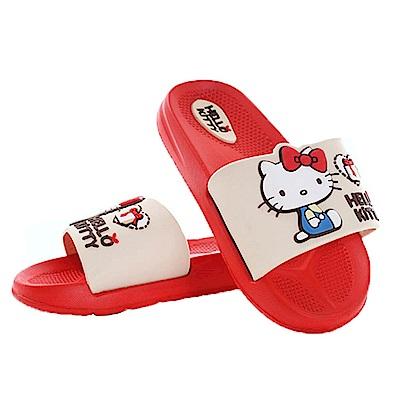 Hello kitty休閒拖鞋 sk0467 魔法Baby