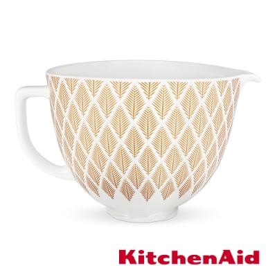KitchenAid 5Q陶瓷攪拌盆: 金色年華
