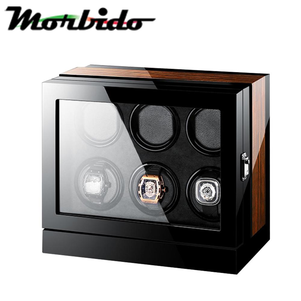 Morbido蒙彼多搖錶器 觸控式自動機械錶收藏盒/自動上鍊盒(6只入)