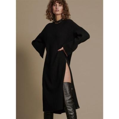 ONETEASPOON  STUDIO KNIT DRESS 洋裝-女(黑)