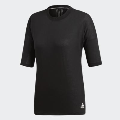 adidas 3-STRIPES 短袖上衣 女 EB3820