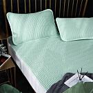 Lily Royal 60支頂級天絲乳膠可水洗軟蓆枕套三件組 加大 海蔚藍