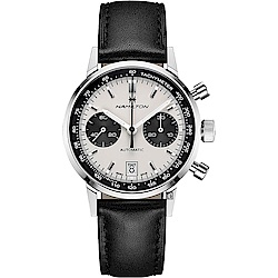 Hamilton 漢米爾頓 Intra-Matic Autochrono熊貓復刻計時機械錶