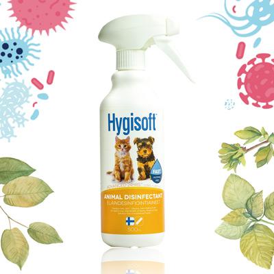 芬蘭Hygisoft科威寵物體味控制抗菌噴霧-500ml*1