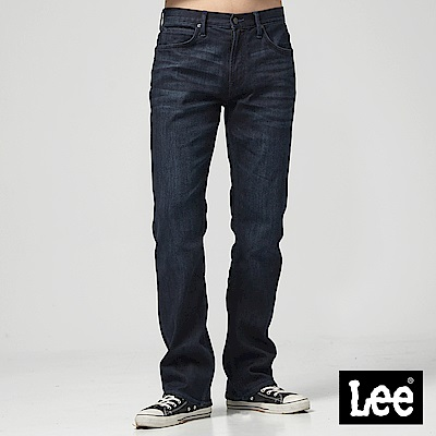 Lee 中腰舒適直筒牛仔褲/RG