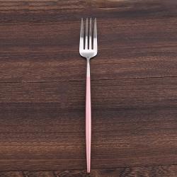 Royal Duke 葡萄牙同款餐叉-粉銀色(歐洲時尚簡約)