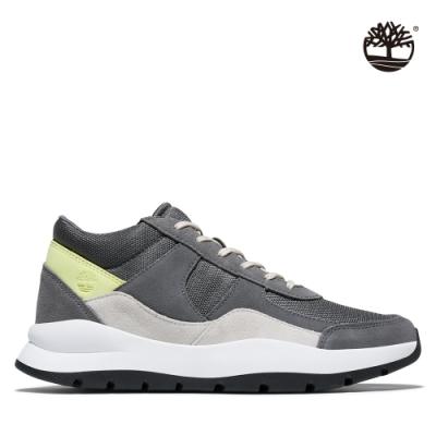 Timberland 男款中灰色絨面革拼接Boroughs Project休閒鞋|A22DM