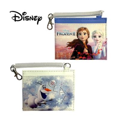 日本正版 冰雪奇緣2 票夾 證件套 悠遊卡夾 艾莎/安娜/雪寶 迪士尼
