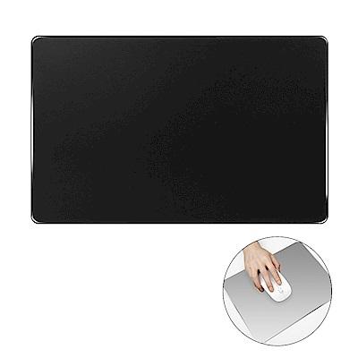 細緻磨砂鋁合金時尚金屬超大滑鼠墊