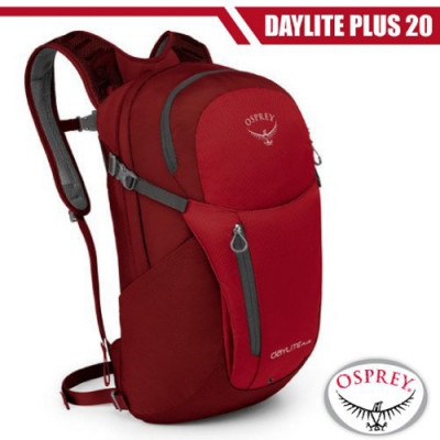 OSPREY 新款 Daylite Plus 20L 超輕多功能隨身背包__真誠紅 R