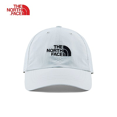 The North Face北面男女款灰色防曬透氣運動帽|CF7W5WH