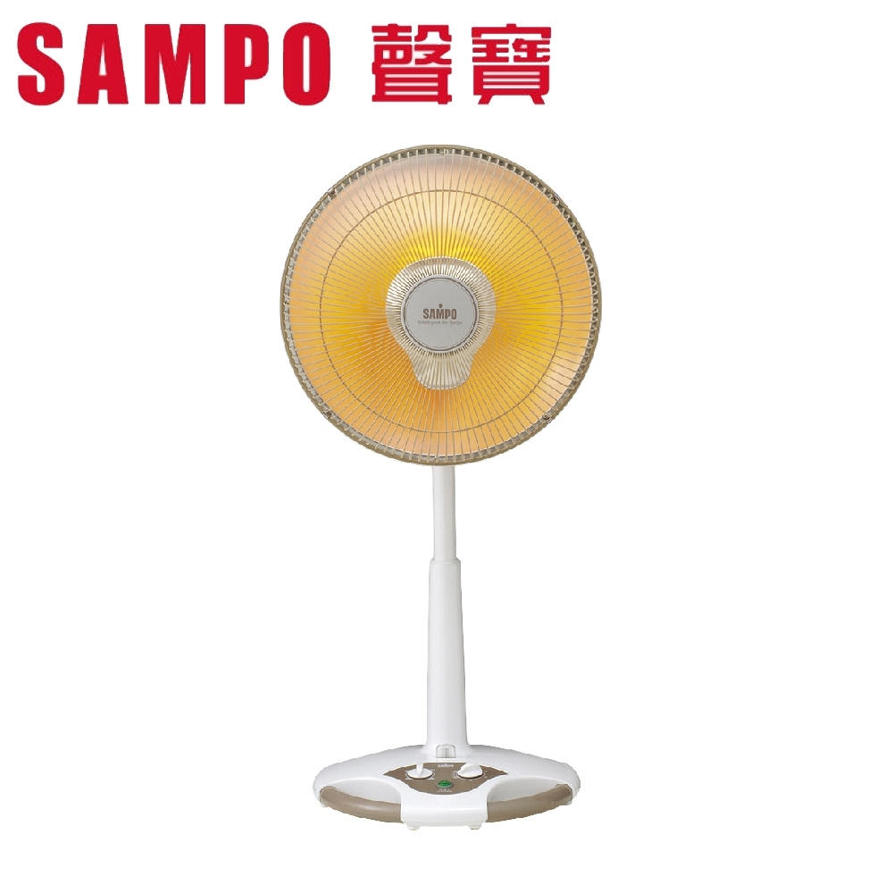 SAMPO聲寶 14吋 2段速定時鹵素電暖器 HX-FD14F
