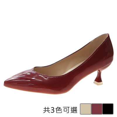 KEITH-WILL時尚鞋館 街頭潮人錯綜甜漾尖頭鞋