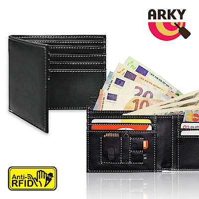 ARKY Wallet&Guard RFID-blocking 防側錄短夾