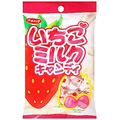 Amehama 草莓牛奶風味糖(100g)
