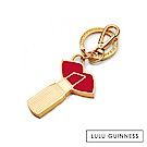 LULU GUINNESS LIP & LIPSTICK 鑰匙圈