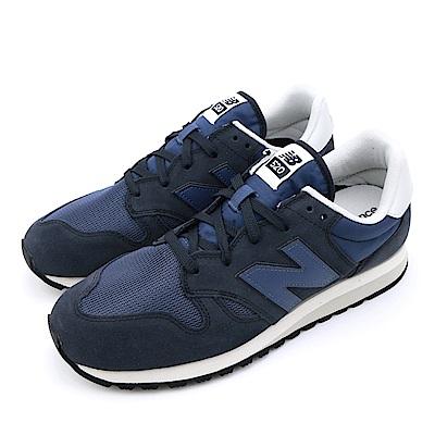 NEW BALANCE-男女休閒鞋U520CK-D-深藍
